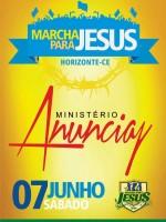 Marcha Para Jesus em Horizonte